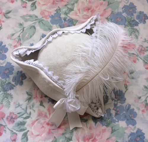 white pirate hat