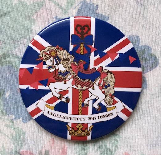 tea party club angelic pretty london badge