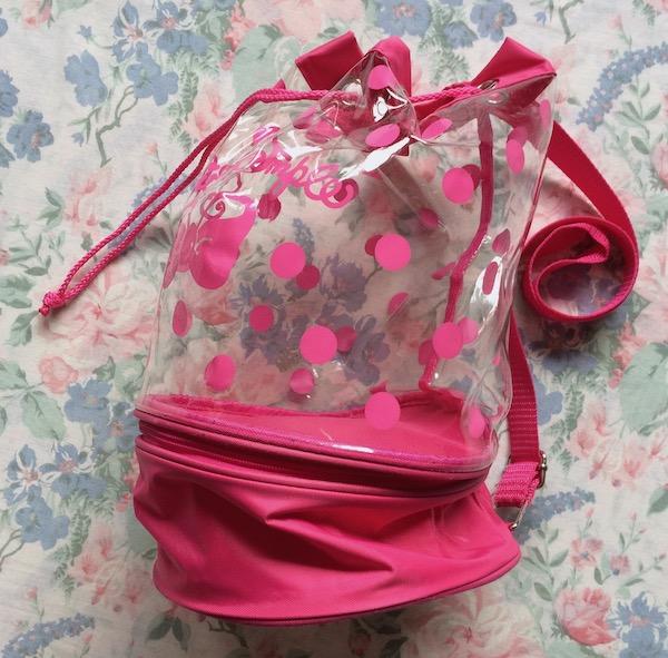 pink swim bag