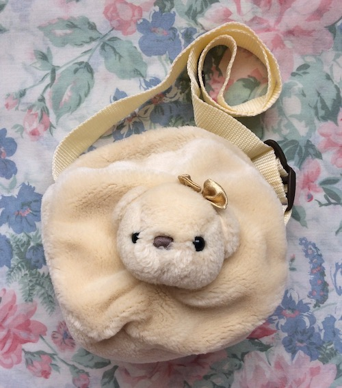 bear face bag
