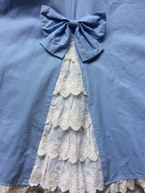 skirt lace detail