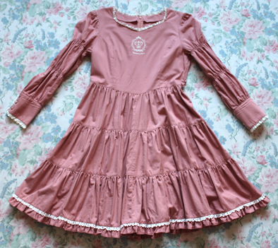 pink crown Dress