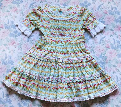 Blue Cherry Dress