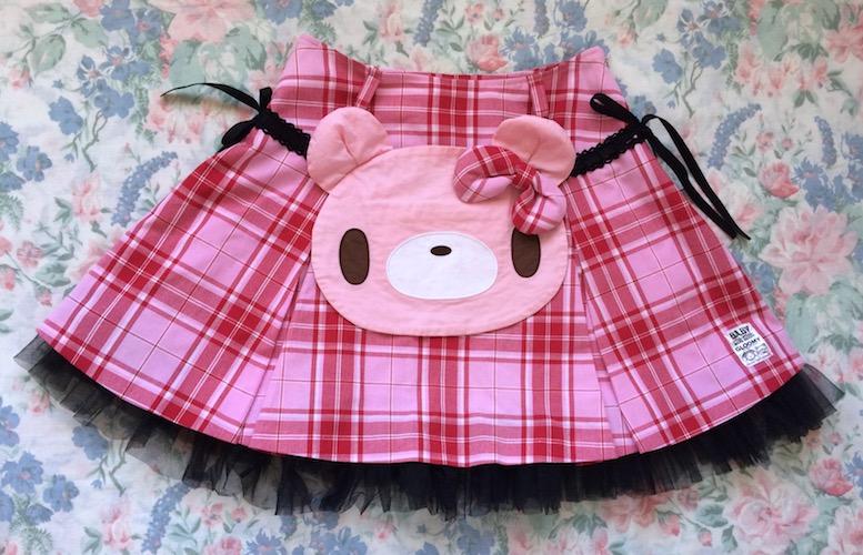 gloomy bear skirt