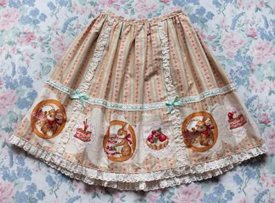 chelsea bunny skirt