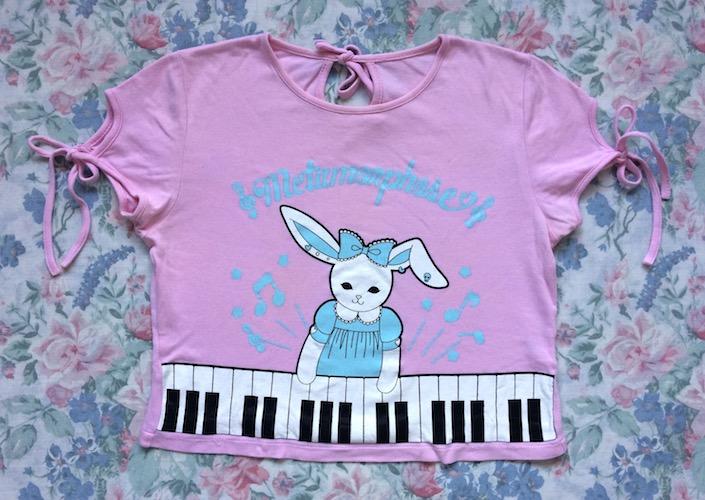meta pink rabbitch top