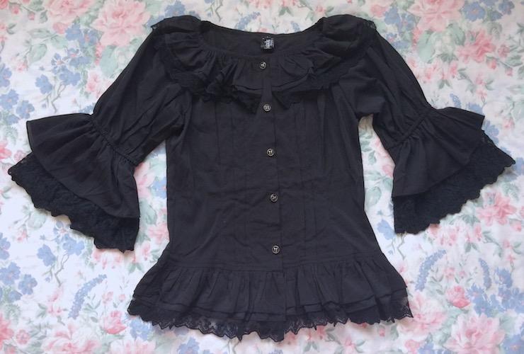 black fairy dance