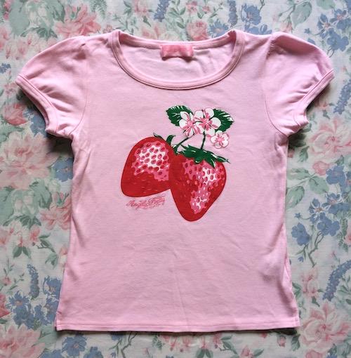 pink strawberry cutsew