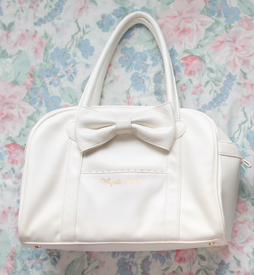 white ap bag