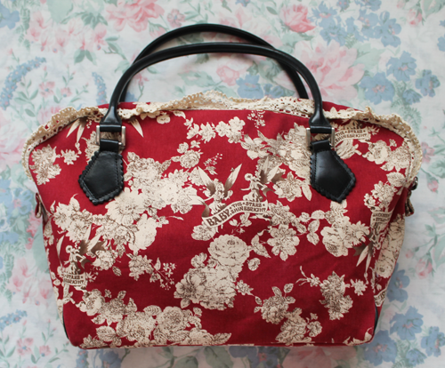 fairy pattern bag