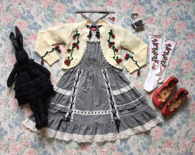 gingham berry coord