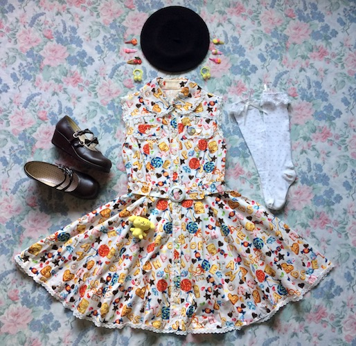 biscuit dress coord