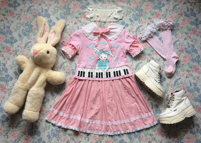 coord with bunny cutsew
