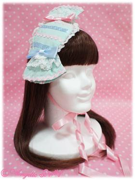 blue candy headdress