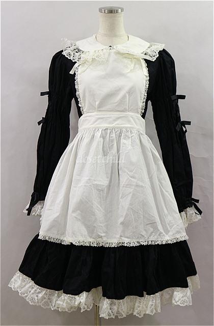 black x white dress