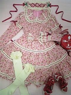 pink strawberry dress