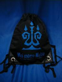 black and blue bag
