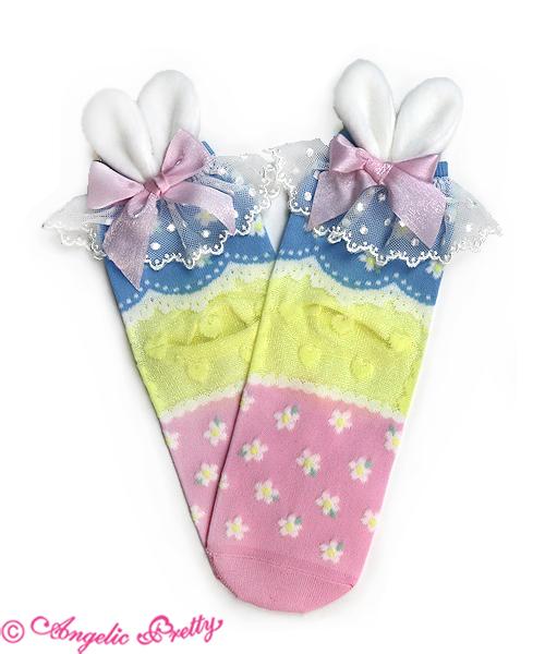 bunny ear socks