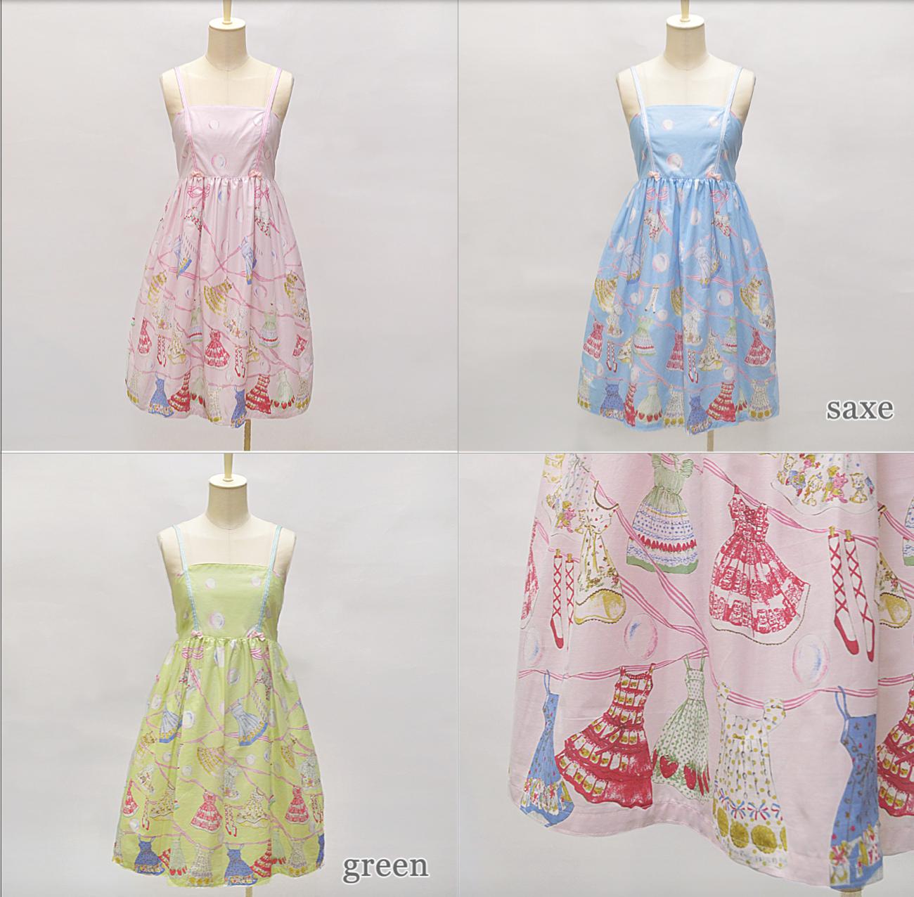 landry print dress