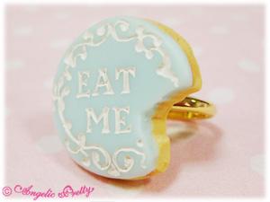 eat me cake ring