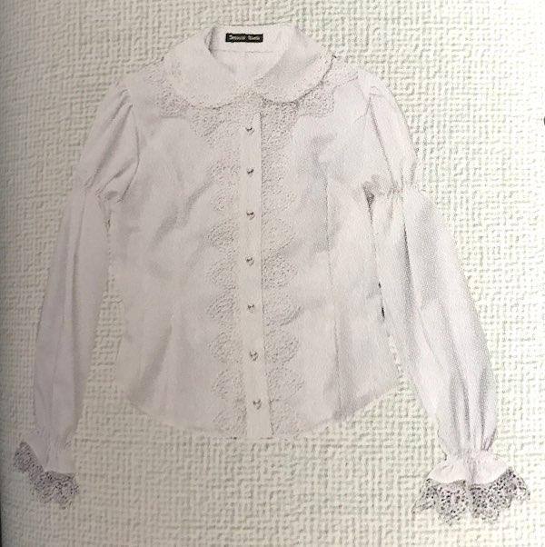 heart lace blouse