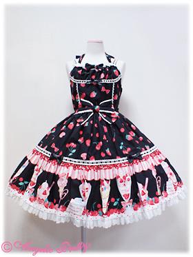 strawberry parfait dress