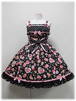 jam print dress
